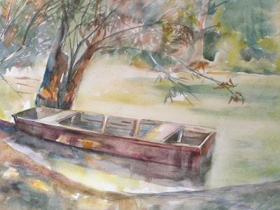 Csónak Mecséren