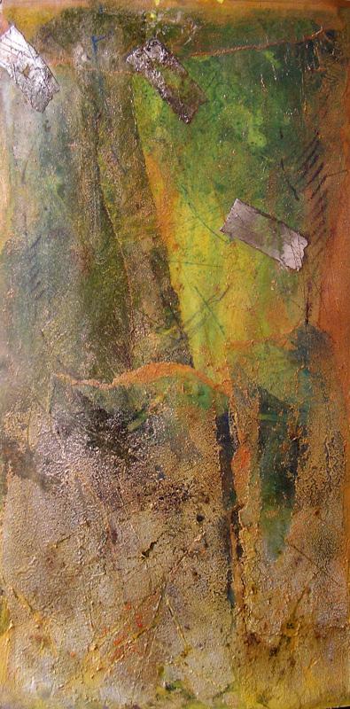 Absztrakt akvarell