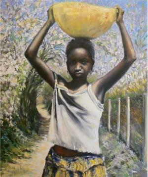 Vitáris József festménye