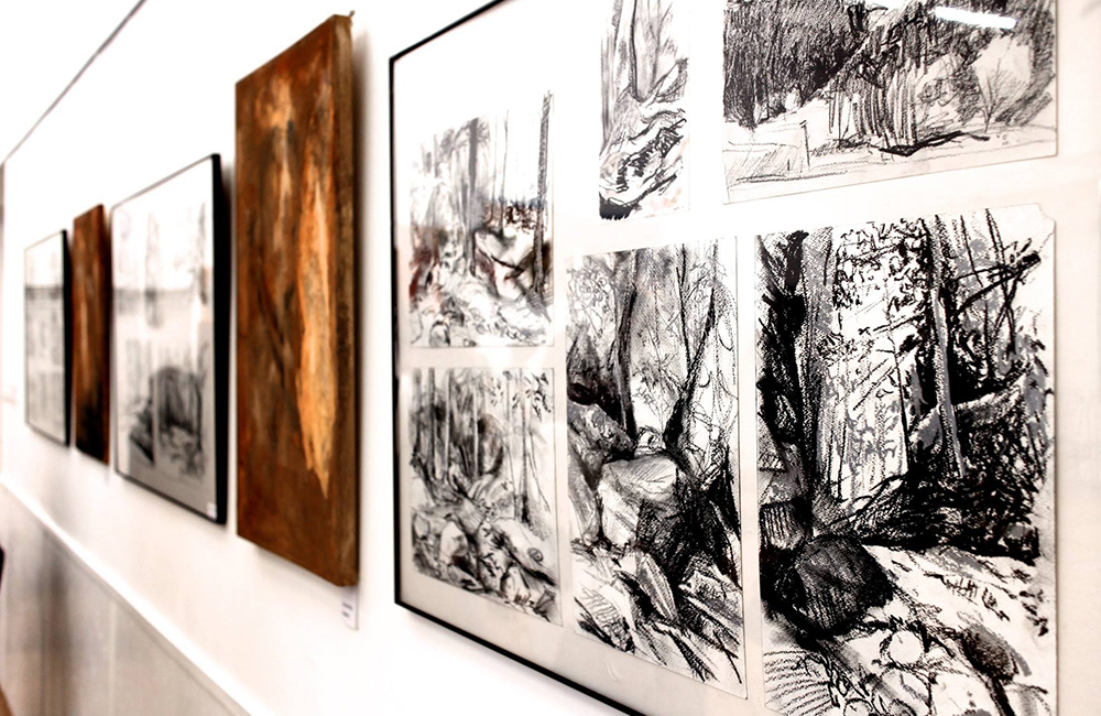 Dubi Árpád kiállítása
